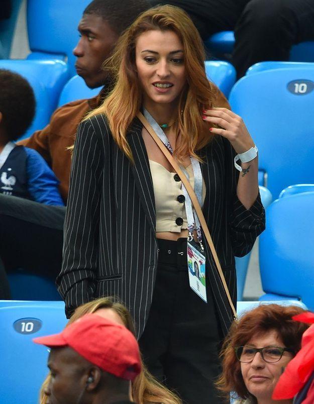 Elle a assisté à presque tous les matchs des Bleus