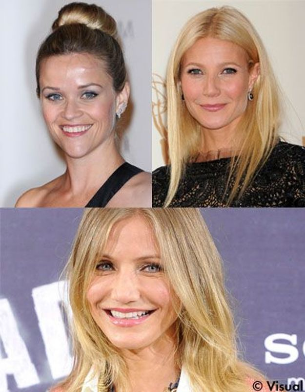 Reese Witherspoon, Gwyneth Paltrow et Cameron Diaz dînent entre copines
