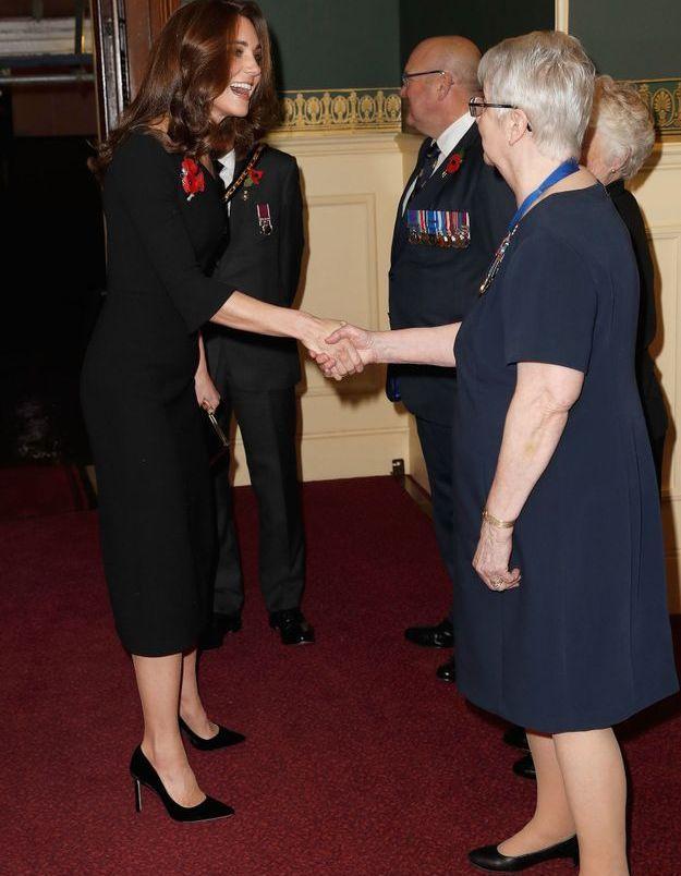 Kate Middleton arrive au Royal Albert Hall