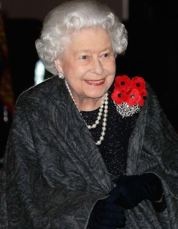La Reine Elizabeth II arrive au Royal Albert Hall