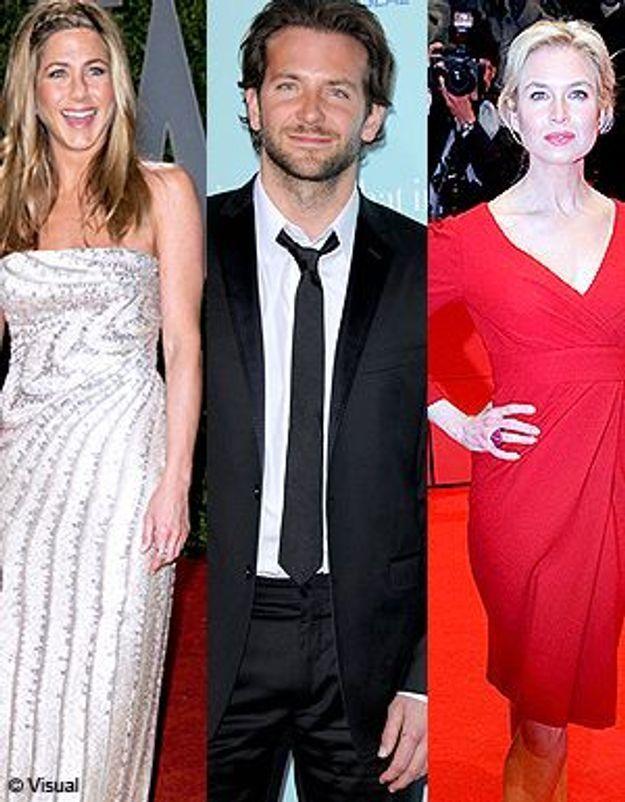 Renée Zellweger/Jennifer Aniston : Bradley Cooper a choisi !