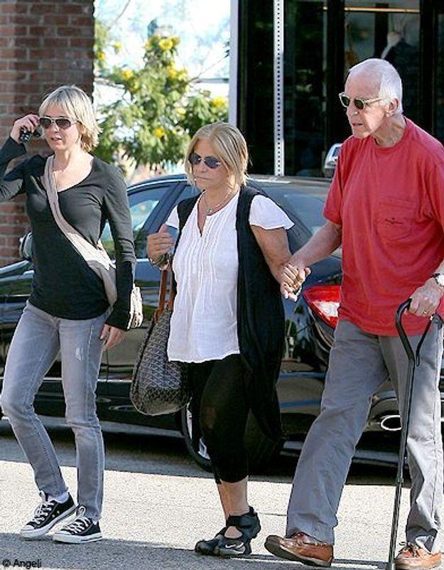 Avec ses parents