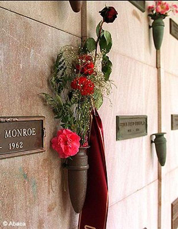 Reposez en paix aux côtés de Marilyn Monroe