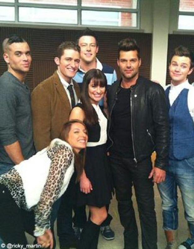 Ricky Martin prof d'espagnol dans « Glee » !