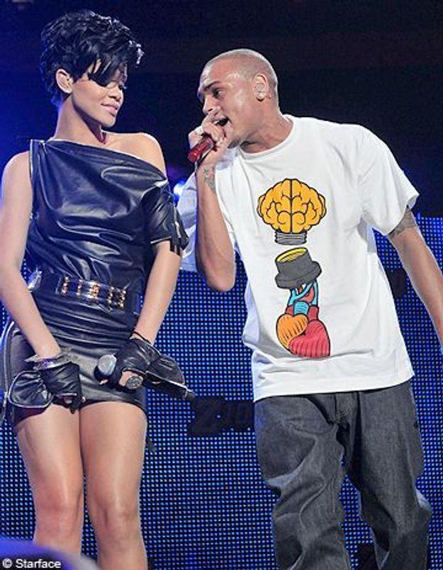 Rihanna-Chris Brown : les ex-amants proches malgré l'interdiction