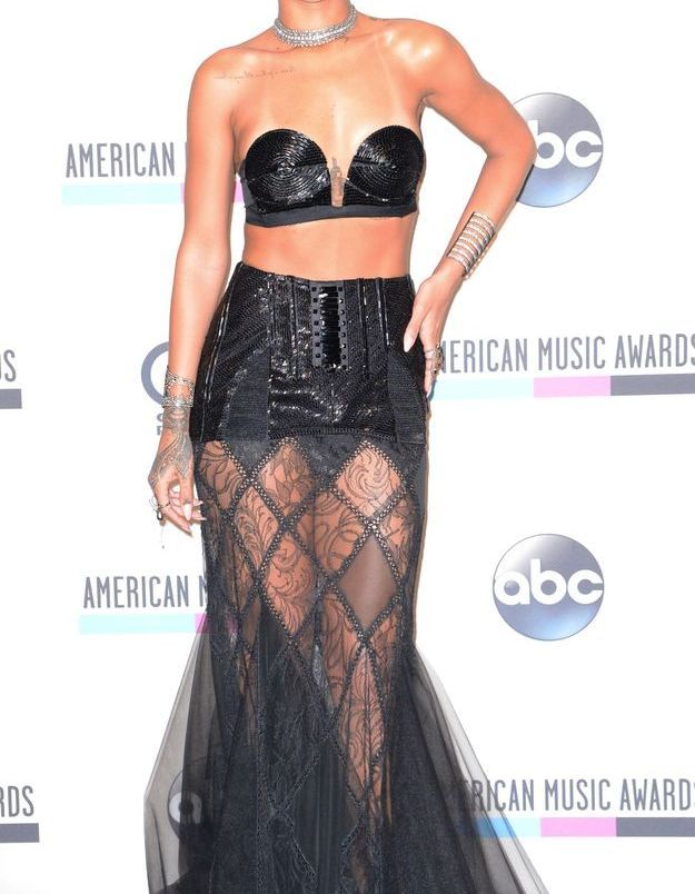Rihanna aux American Music Awards 2013