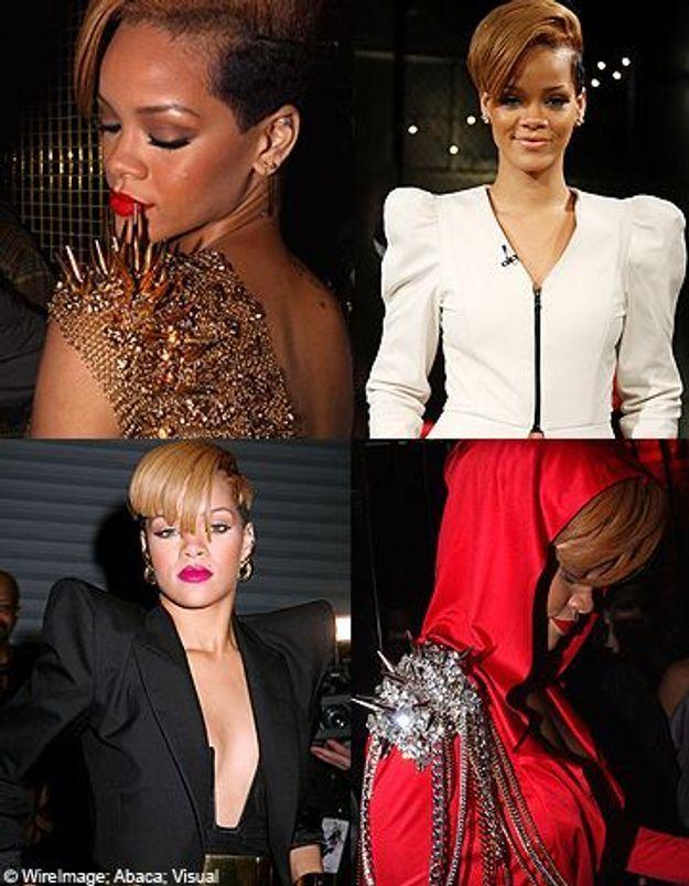 Rihanna toujours bien épaulée