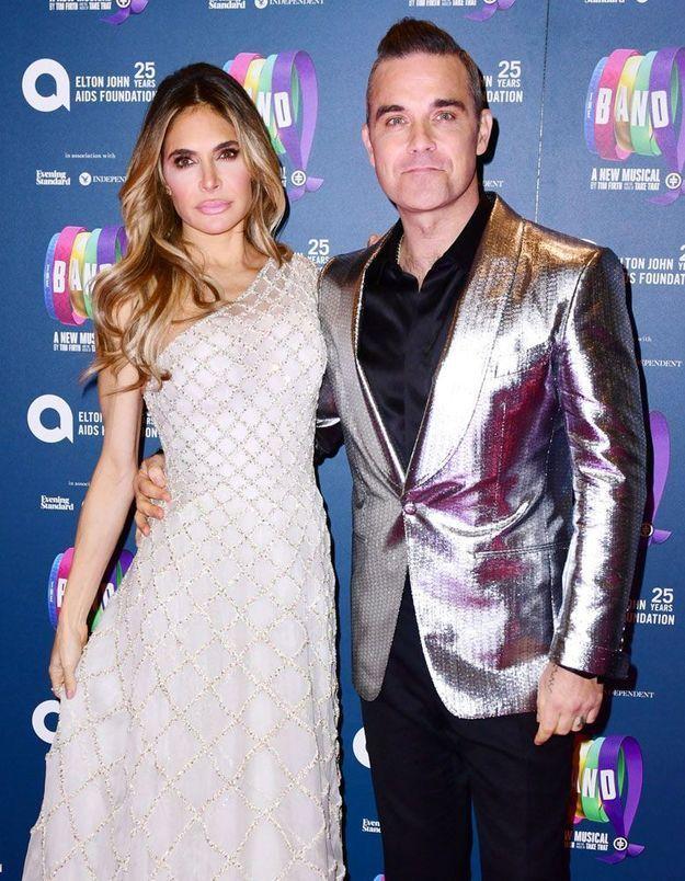 Robbie Williams : découvrez le prénom de son quatrième enfant