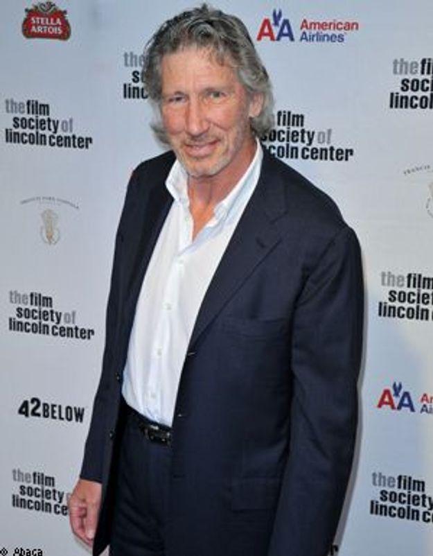 Roger Waters des Pink Floyd contre le mur en Cisjordanie