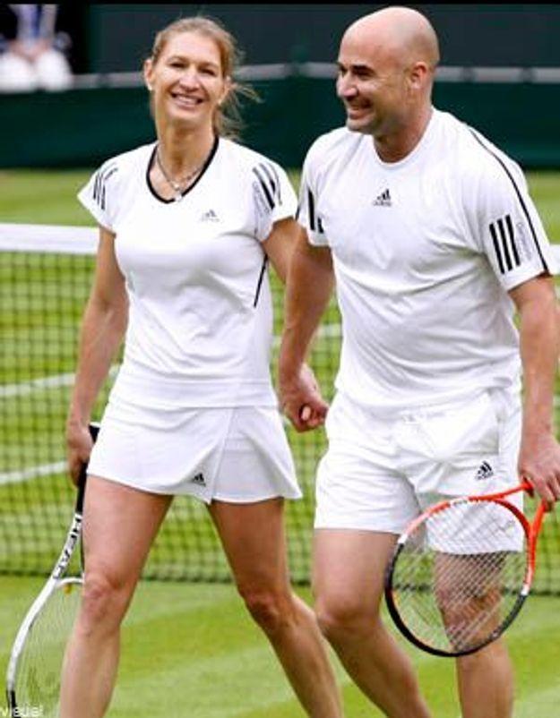 Roland-Garros 2009 : retour de Steffi Graf et André Agassi