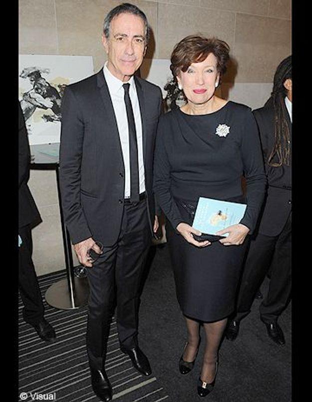 Roselyne Bachelot métamorphosée lors d'un dîner de charité