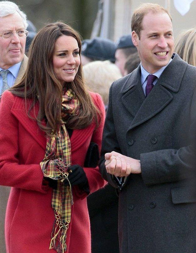 Royal Baby : le Prince William déjà aux côtés de Kate Middleton