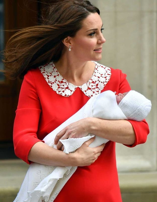 Kate Middleton a accouché ce lundi matin