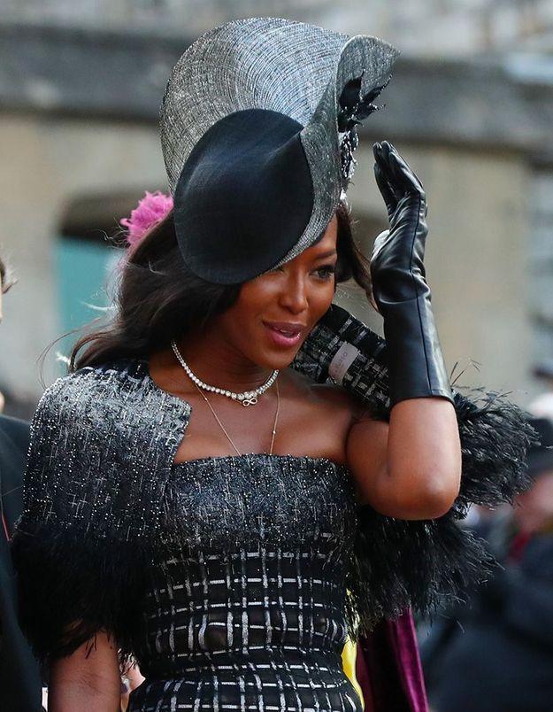 Naomi affronte le vent avec classe