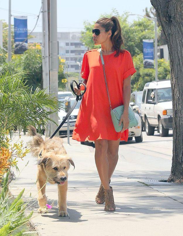 Promenade du chien Georges