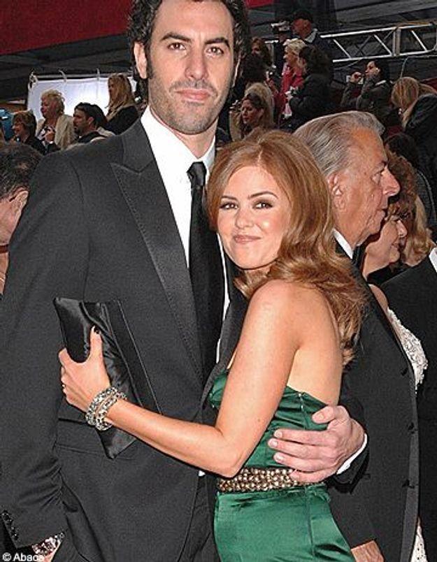 Sacha Baron Cohen et Isla Fisher : just married ?