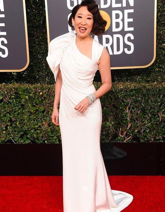 Sandra Oh : son hommage aux Asiatiques à Hollywood