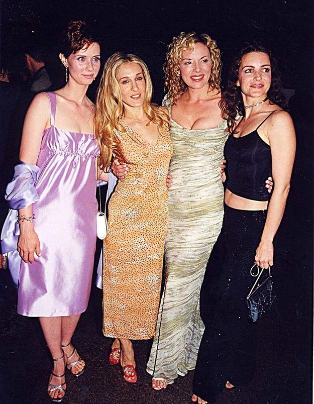 Carrie, Charlotte, Miranda, Samantha