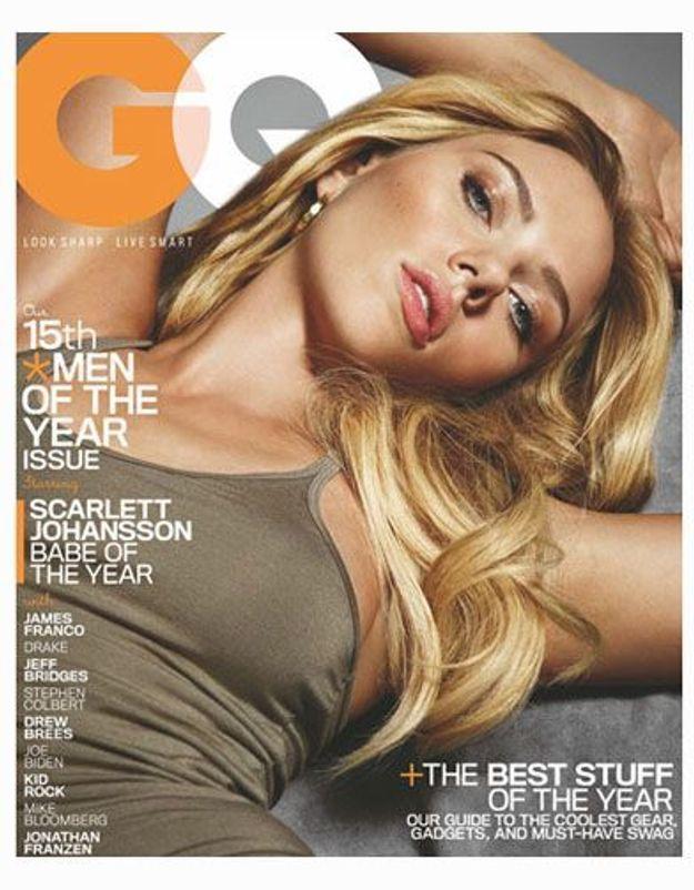 Scarlett Johansson élue « Babe » de l'année 2010