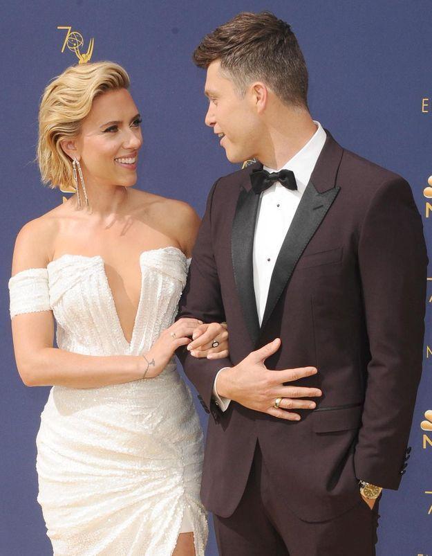 Scarlett Johansson se confie sur son mariage « bizarre » mais « magnifique » avec Colin Jost