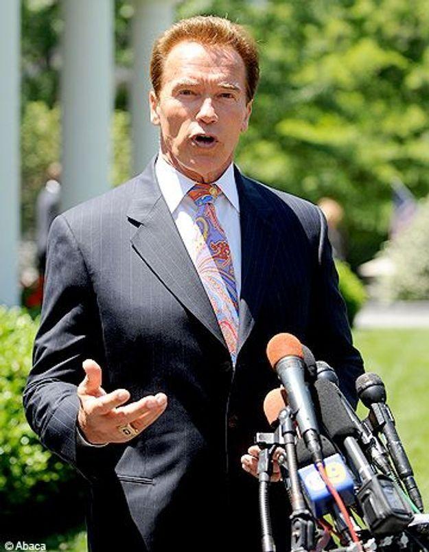 Schwarzenegger sanctionne sa femme pour l'exemple