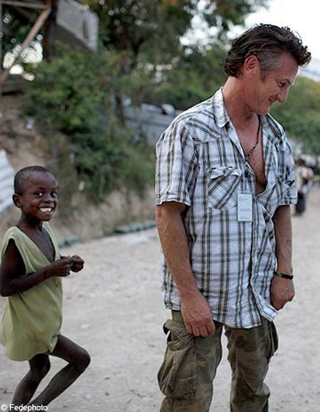Sean Penn à Haïti, un héros très discret