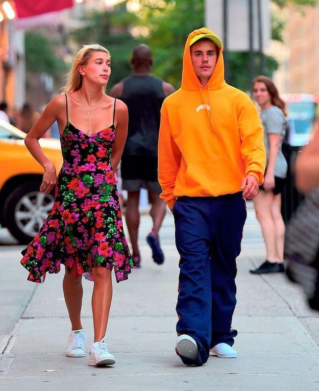 Dans les rues de New-York, Hailey Baldwin et Justin affichent au grand jour leur amour