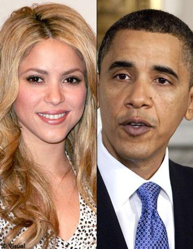 Shakira a rencontré Barack Obama à la Maison Blanche