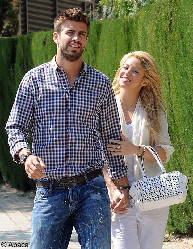 Shakira attend un garçon