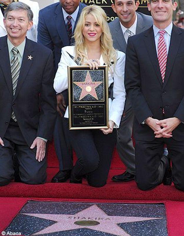 Shakira, première Colombienne à avoir son étoile à Hollywood