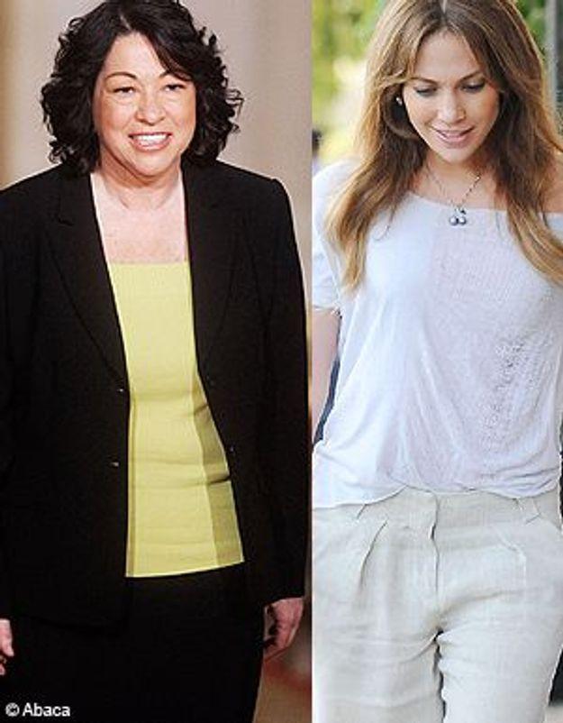 Sonia Sotomayor, invitée d'honneur chez Jennifer Lopez