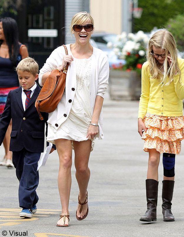 Ava et Deacon, les enfants de Reese Witherspoon et Ryan Phillippe !