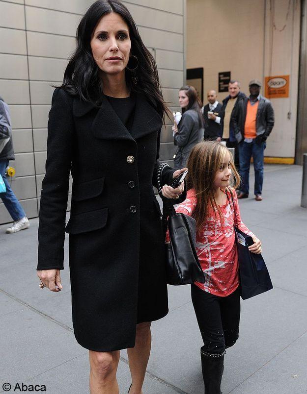 Coco, la fille de Courtney Cox et David Arquette !
