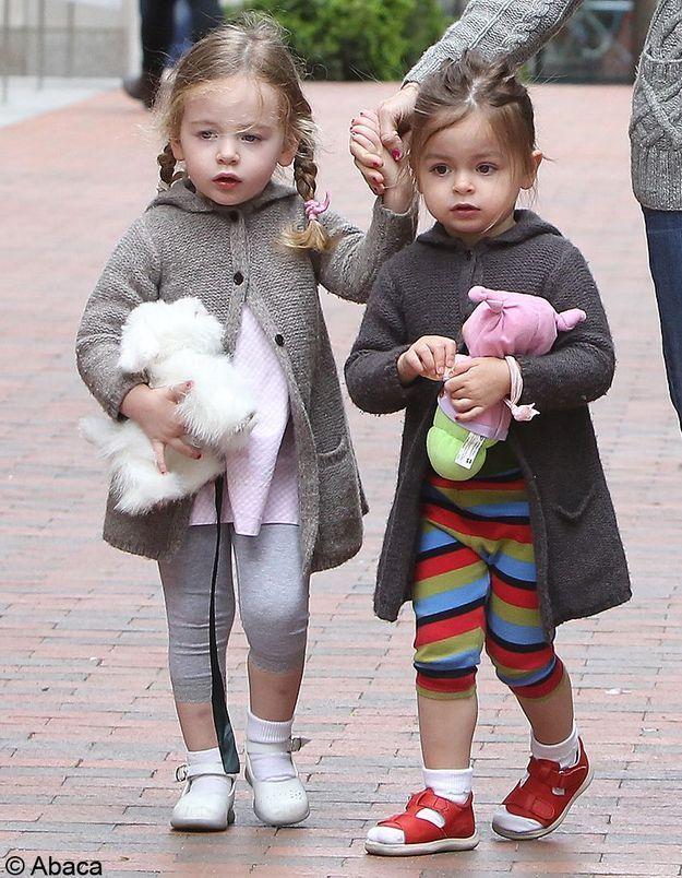 Si elles suivent les traces de leur mère, ces jumelles risquent de devenir des fashionistas redoutables !