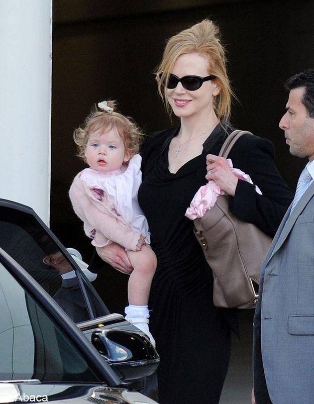 Sunday, la fille de Nicole Kidman et Keith Urban !