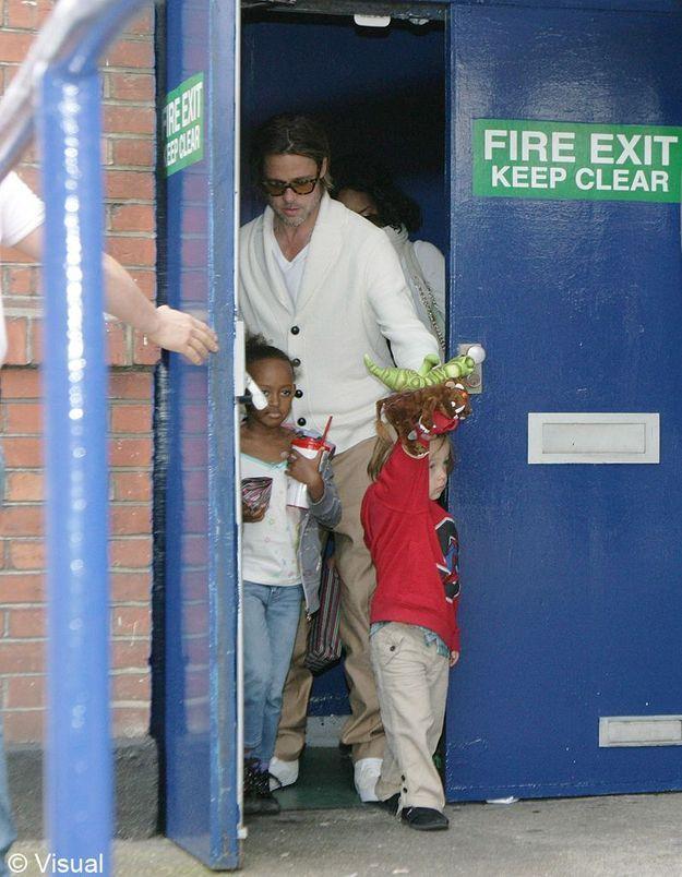Zahara, la fille de Brad Pitt et Angelina Jolie !