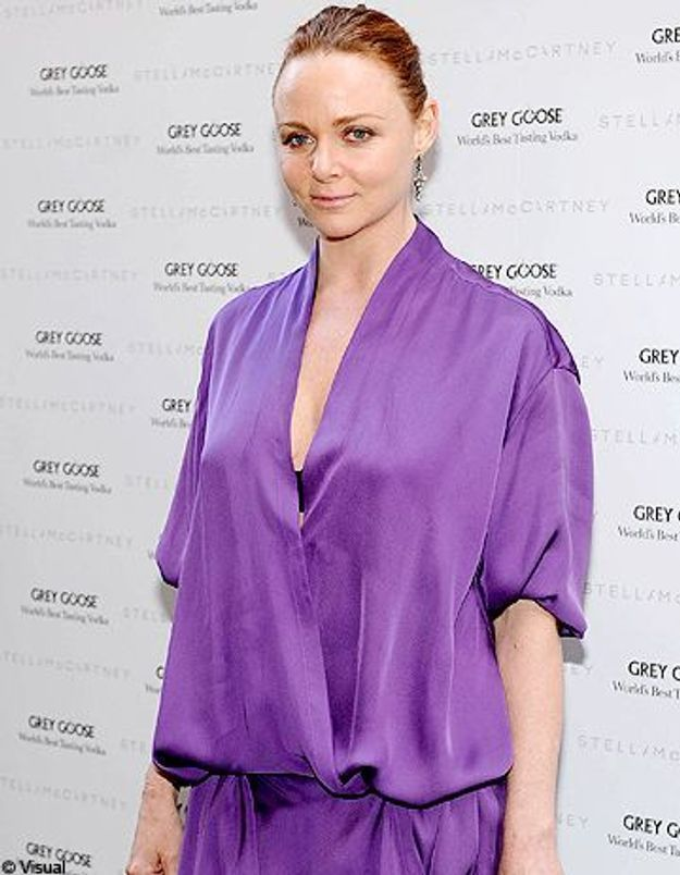 Stella McCartney attend son 4ème enfant