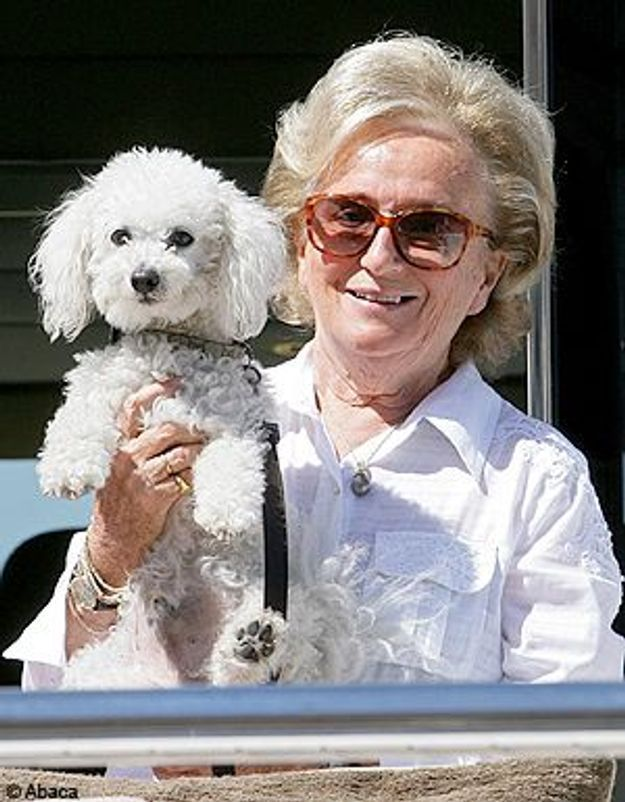 Sumo, le bichon de Bernadette Chirac, soigné pour dépression