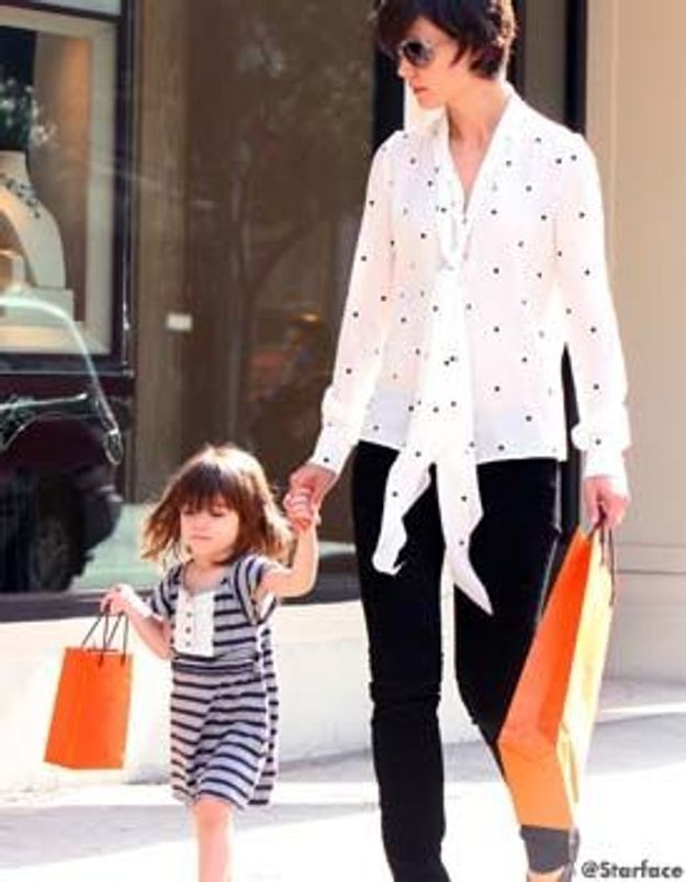 Suri Cruise, déjà shopping addict !