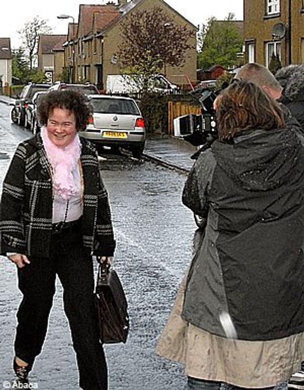 Susan Boyle : crise de nerfs devant ses fans
