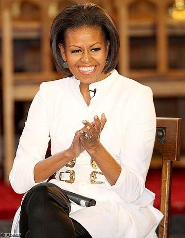 Téléréalité US : Michelle Obama met les mains dans l'enduit