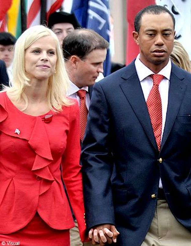 Tiger Woods en mode rabibochage avec sa femme ? - Elle