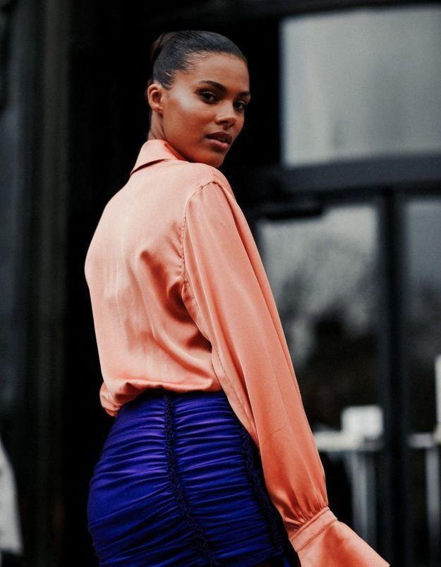 Tina Kunakey : elle publie une photo inédite prise pendant sa grossesse