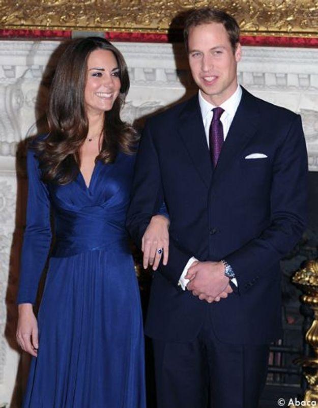 Un premier voyage officiel prévu pour Kate et William