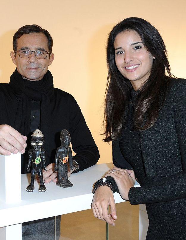 Une statue dérobée au domicile d'Anissa Delarue