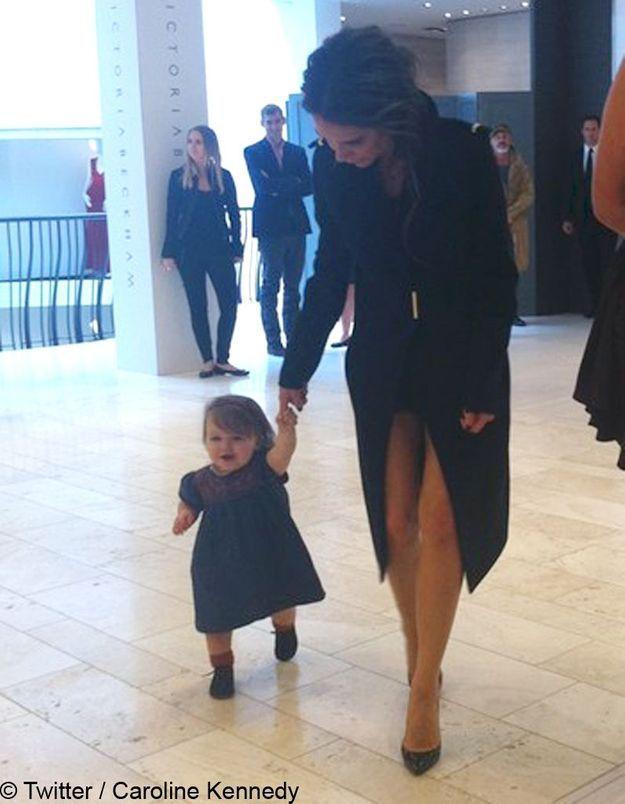 Victoria Beckham : les premiers pas d'Harper