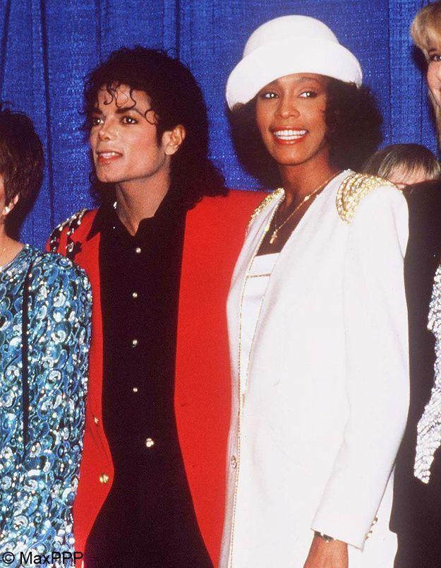 Whitney Houston et Michaël Jackson en couple pendant deux ans ?