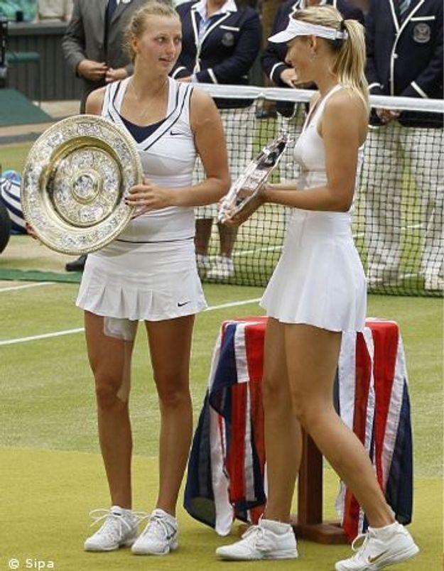 Wimbledon : Maria Sharapova s'incline face à Petra Kvitova