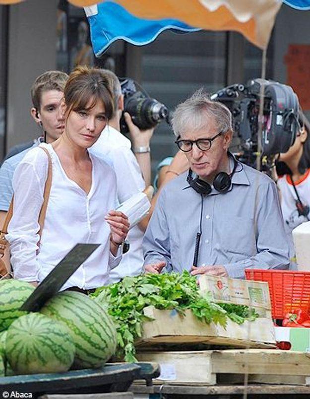Woody Allen dément : Carla Bruni ne sera pas remplacée