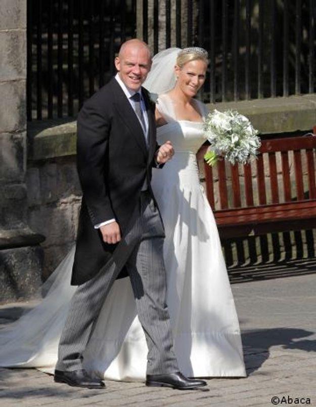 Zara Phillips, la cousine du prince William, s'est mariée
